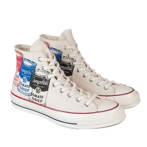Converse Andy Warhol Chuck Taylor 1970s Soup Cans